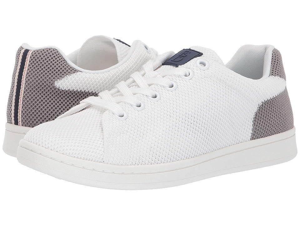 ED Ellen DeGeneres Chavelle Sneaker (Pure White/Pompeii) Women