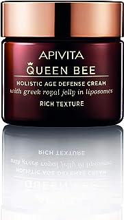APIVITA Queen Bee Holistic Age Defense Cream Rich Texture 1.69 fl.oz.   Anti-aging, Firming & Restoring Cream with Royal J...