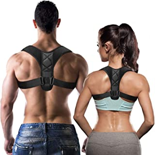 TidyTrendy Posture Corrector for Women and Men - Adjustable Upper Back Brace for Shoulder and Back Support - Correct Slouching, Hunching & Bad Posture