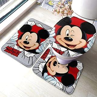 tapis de protection de sol durable Mickey Mouse et Minnie Mouse antid/érapant et lavable 50x50cm Tapis de protection fonctionnel Disney Mickey Mouse pour lint/érieur jusqu/à 10 m de long