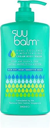 Suu Balm Dual Cooling and Moisturising Cream Body Wash, 840 milliliters
