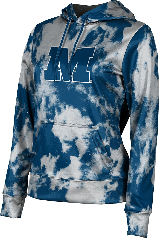 ProSphere Millikin University Girls' Pullover Hoodie, School Spirit Sweatshirt (Grunge)