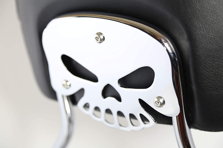 Sissy Popular Dedication shop is the lowest price challenge Bar Upright Passenger Backrest Kit Bracke Mount Chrome Pad