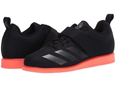 adidas Powerlift 4 (Core Black/Night Metallic/Signal Coral) Men