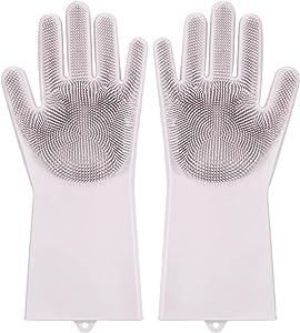 Kitchen Silicone Brush Gloves