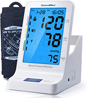 CHOICEMMED Blood Pressure Monitor with Talking Function - Blood Pressure Cuff with Large Display - 9.4
