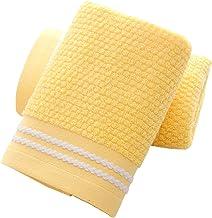 مناشف يد من YAMAMA مجموعة من 2، مناشف وجه ناعمة جدا ماصة للحمام 13 × 30 بوصة (أصفر)