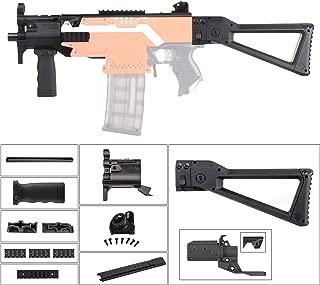 JGCWorker Mod Kit Set for Nerf N-Strike Elite Stryfe Blaster Upgrade Model Nerf Modulus Attachment (MP5-K-B)