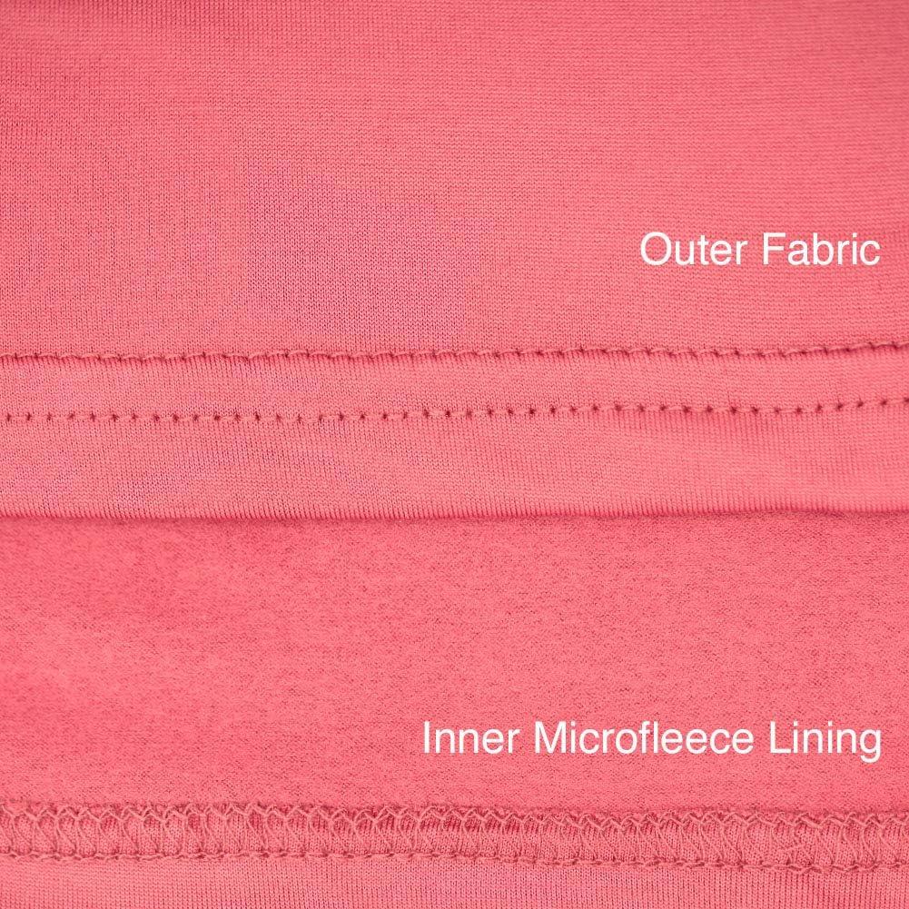 SLM ThermaTek Women's Microfiber Fleece Thermal Underwear Two Piece Long Johns Set