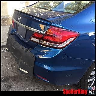 Honda Civic 4dr 2012-2015 Rear Trunk Lip Spoiler (244L)