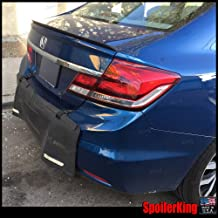 Honda Civic 4dr 2012-2015 Rear Trunk Lip Spoiler (244L)