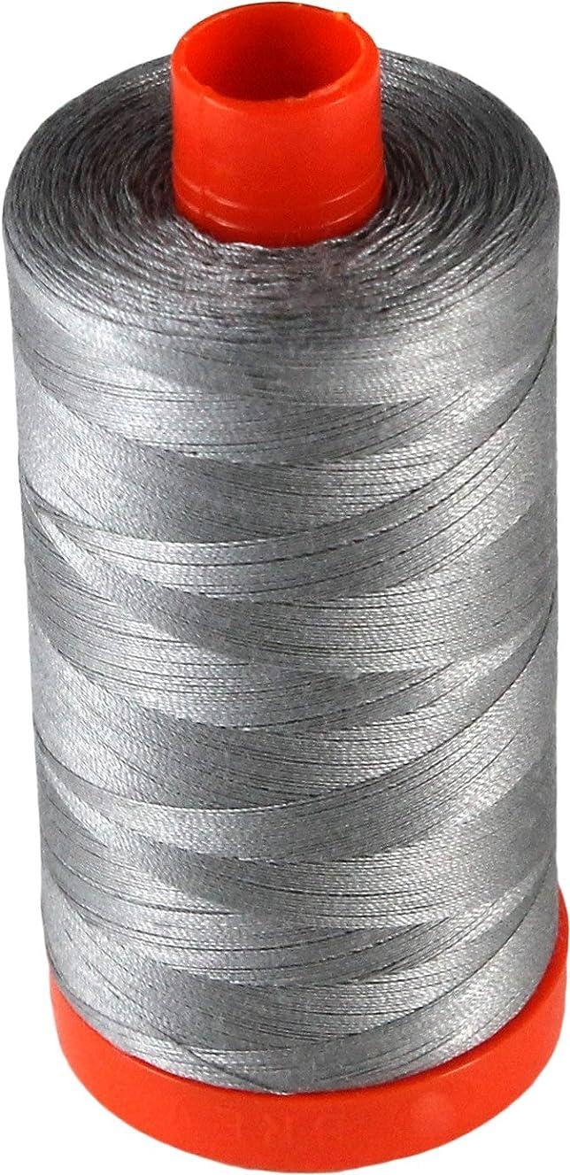 Aurifil Cotton Mako 50wt Stainless Steel Thread Large Spool 1421 yard MK50 2620