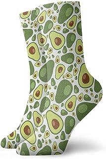 Dydan Tne, Niños Niñas Locos Divertidos Calcetines con diseño de Aguacate Lindos Calcetines de Vestir de Novedad