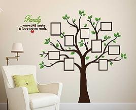 Wallstick 'Family Tree' Wall Sticker (Vinyl, 49 cm x 4 cm x 4 cm)