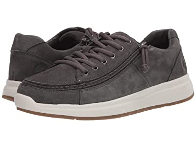 BILLY Footwear Comfort Suede Lo (Grey) Men