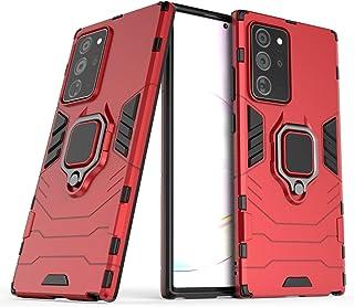 BAIYUNLONG Funda Protectora, para Samsung Galaxy Note20 Ultra PC + Funda Protectora Anti-caída de TPU con Titular del Anil...