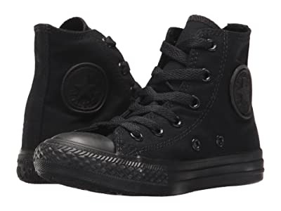 Converse Kids Chuck Taylor(r) All Star(r) Core Hi (Little Kid) (Black/Monochrome) Kids Shoes
