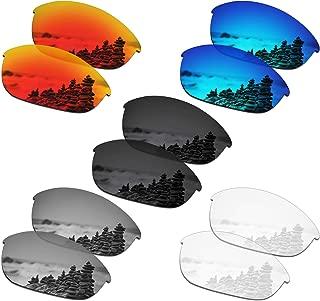 SmartVLT Set of 5 Men's Lenses for Oakley Half Jacket Sunglass Combo Pack S01
