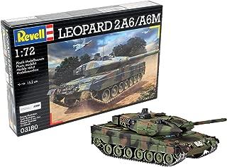 Revell- 2 A6/A6M Maqueta Leopard 2A6/A6M, Kit Modelo, Escala 1:72 (03180)