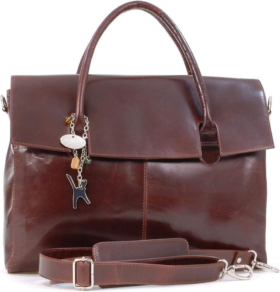 Catwalk collection grande borsa a mano/ tracolla da lavoro unisex porta pc portatile 5060167683688