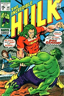 Incredible Hulk, The #141 VG ; Marvel comic book