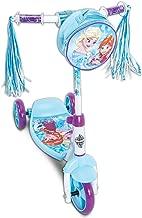 Disney Frozen Girls 3-Wheel Preschool Scooter, by Huffy