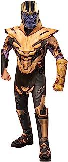 Rubie's Official Marvel Avengers Endgame Thanos Deluxe Childs Costume, Kids Superhero Fancy Dress