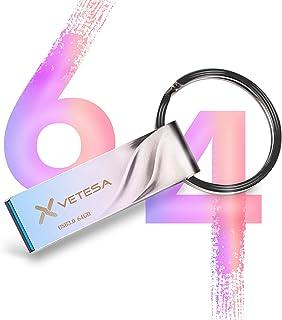 シリコンパワー 64GB USBメモリUSB3.1 / USB3.0 高速USB亜鉛合金ボディ 防水 防塵 耐衝撃 永久保証Windows/Mac対応