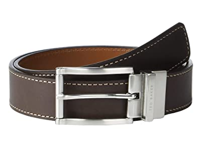 Ted Baker Bream Belt (Chocolate) Men