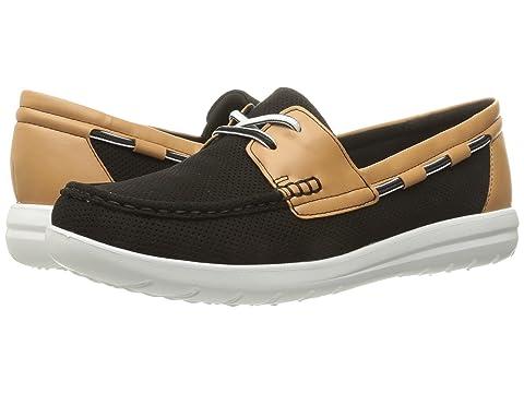 CLARKS Women's Jocolin Vista Boat Shoe Loafers Slip Ons KWPLZLGC1
