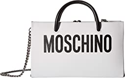 Logo Evening Clutch with Chain