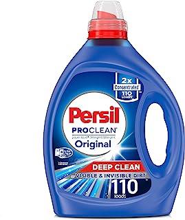 Persil Liquid Laundry Detergent, ProClean Scent, 2X Concentrated, 110 Loads, Blue, 82.5 Fl Oz, Original
