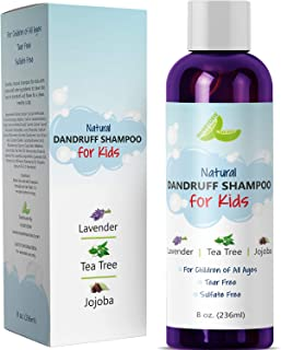 Anti Dandruff Shampoo for Kids – Best Tear Free Natural Children's Scalp Treatment..