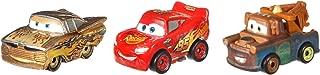 Disney Pixar Cars GBN74 Mini Racers Gold Ramone Series 3-Pack, Multicolour