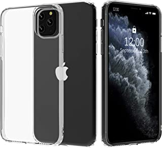 Migeec Compatible with iPhone 11 Pro Max Case - Clear Soft TPU Bumper [Shock-Absorbing] Full Protection Phone Case for iPh...