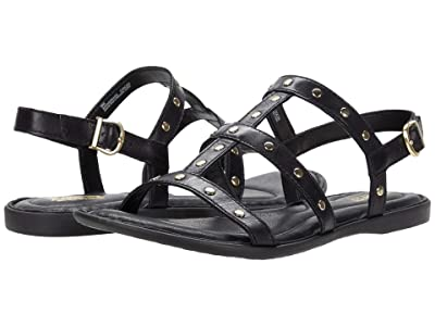 Born Adriana (Black Full Grain Leather) Women