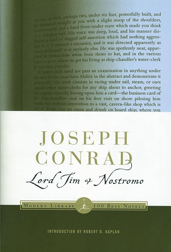 巡礼者ハイブリッド写真Lord Jim & Nostromo (Modern Library (Paperback))