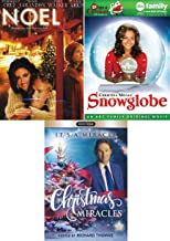 It's A miracle Holiday DVD Movie Noel + Snowglobe & Christmas Miracles Family Movie Time