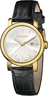 Wenger Women's Analogue Quartz Watch with Leather Strap 01.1021.119