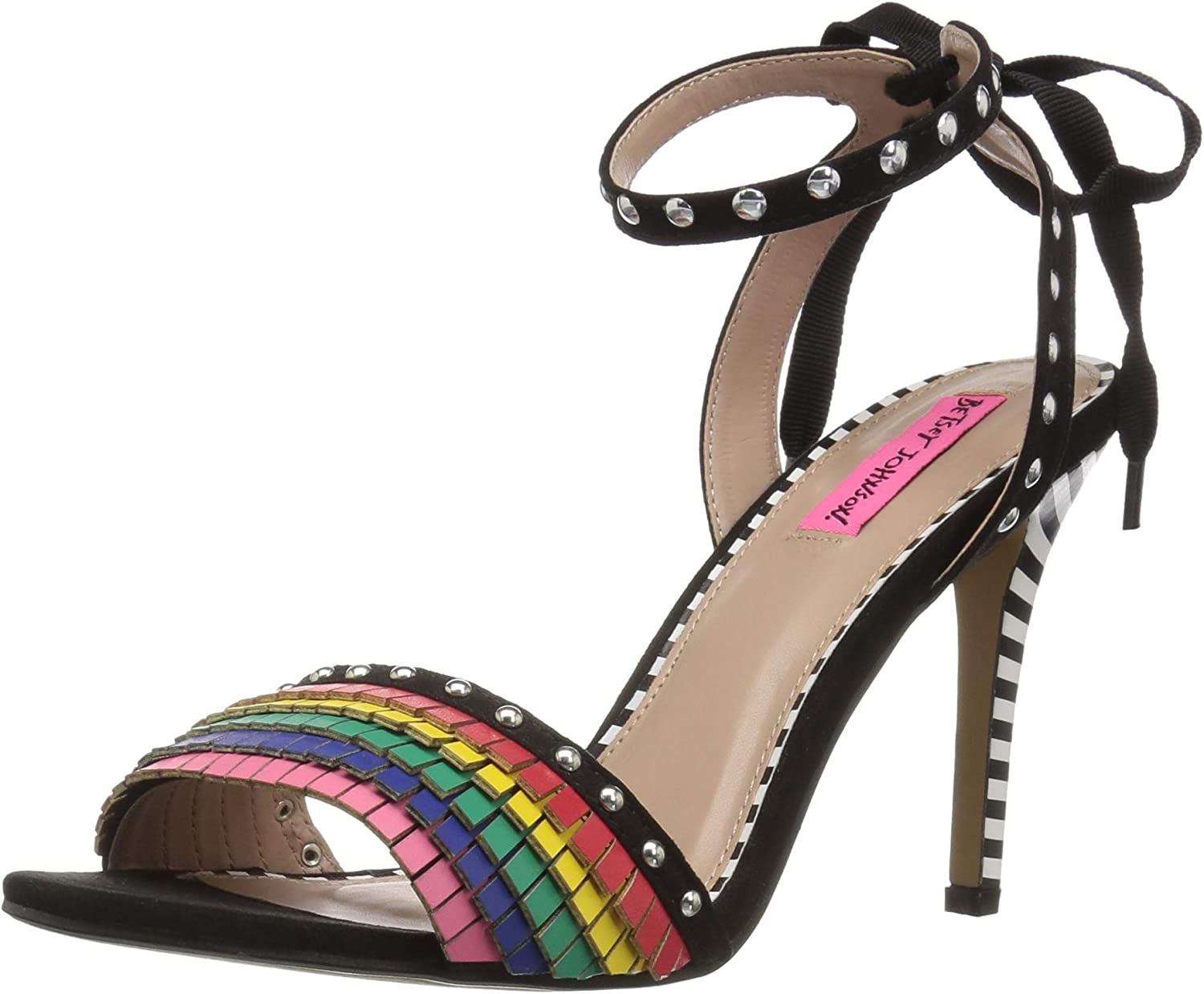 Betsey Johnson Womens Tyna Heeled Sandal
