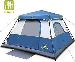 OT QOMOTOP Camping Tent, 4/6/10 People 60 Seconds Set Up,...
