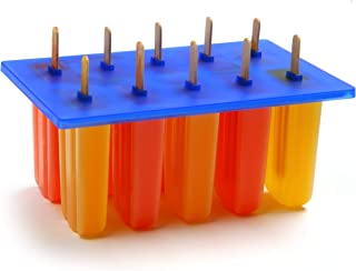 Norpro Frozen Ice Pop Maker with 24 Wooden Sticks (Renewed)
