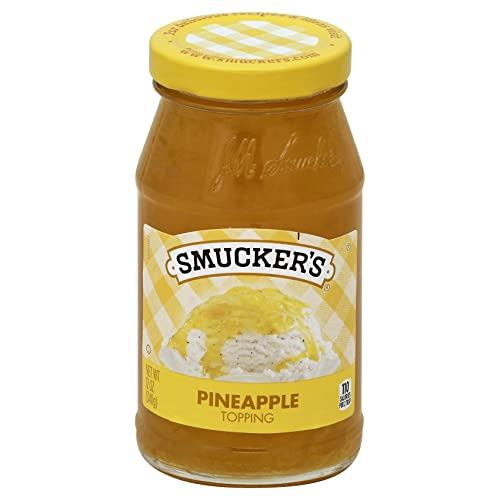 Smucker's Pineapple Spoonable Ice Cream Topping, 12 oz