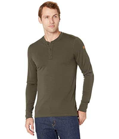 Fjallraven Singi Merino Henley (Deep Forest) Men