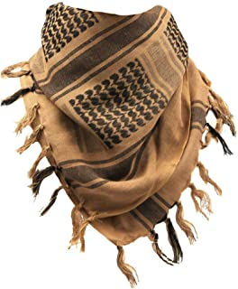 Percy Perry Military Scarf Cotton Shemagh Keffiyeh Tactical Desert Scarf Wrap