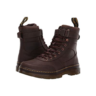 Dr. Martens Combs Tech Tract (Dark Brown) Boots