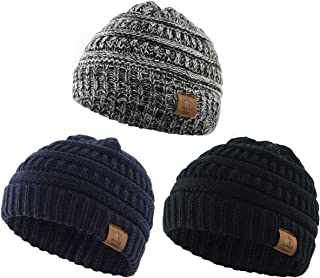Baby Knit Hats Soft Warm Infant Toddler Beanie Cute Babies Hat Boys and Girls