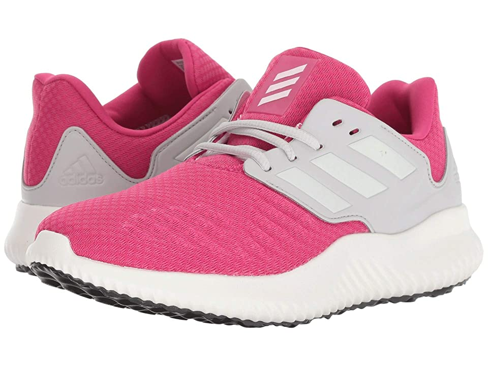 adidas Kids Alphabounce RC XJ (Big Kid) (Real Magenta/Cloud White/Grey One) Kids Shoes