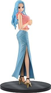 Banpresto One Piece 6.7-Inch Nefeltari Vivi Figure B (Blue Jeans), Jeans Freak Series Volume 9