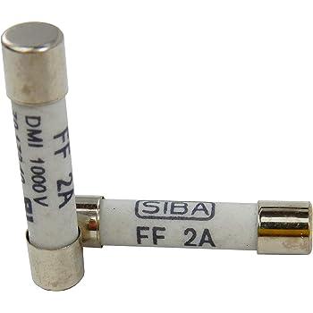 SIBA F2A 125V SMD-Sicherungseinsätze Fuse-links 157000.2GT-AL *Neu* *5 Stück*